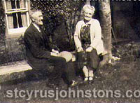 John Johnston & Annie Nisbet 1932
